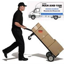truck man van