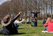 دروس في الهواء الطلق لطلاب الدنمارك