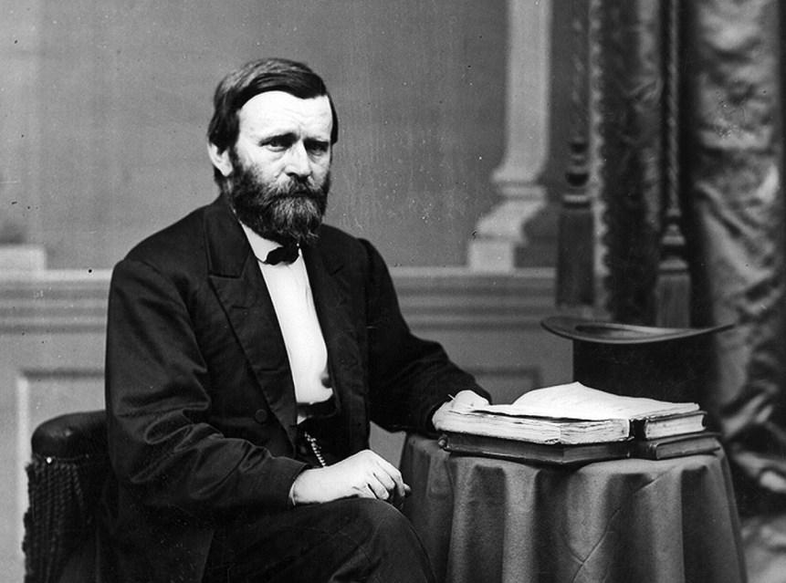 Ulysses S Grant in civilian dress