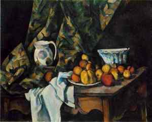 Paul Cézanne, 1905: Nature morte au vase pique-fleurs