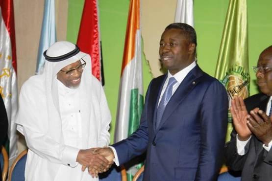 Faure BID bon - En Arabie Saoudite: Faure Gnassingbé signe avec la BID trois conventions d'un montant de 194 millions de dollars