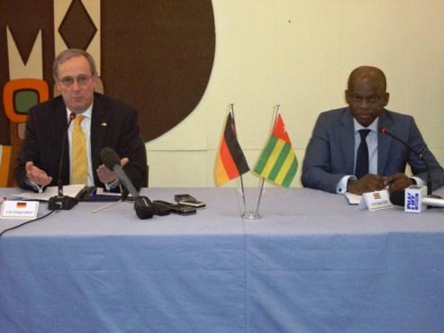 """Togo Allemagne - Initiative """"  Un seul monde sans faim"""": l'Allemagne appuie le Togo à hauteur de 10 milliards"""