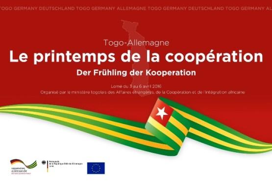 Visuel printemps de la coopération germano togolaise bon - Le printemps de la coopération Togo-Allemagne les 4 et avril à, Lomé