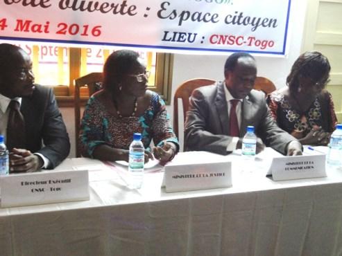 Espace citoyen bon - Journée internationale de l'action citoyenne: La CSNC-Togo a marqué l'événement