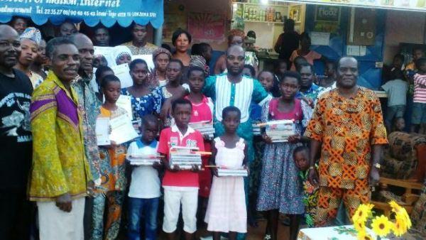 Start up CCA bon - La start-up C.C.A s'engage en faveur des orphelins