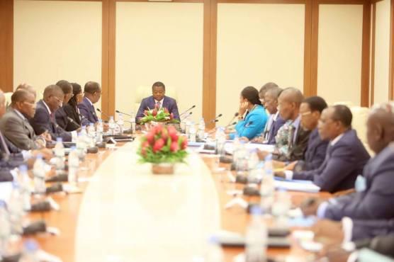 1er Conseil des ministres de 2018 - COMMUNIQUE SANCTIONNANT LE CONSEIL DES MINISTRES DU VENDREDI 03 AOUT 20