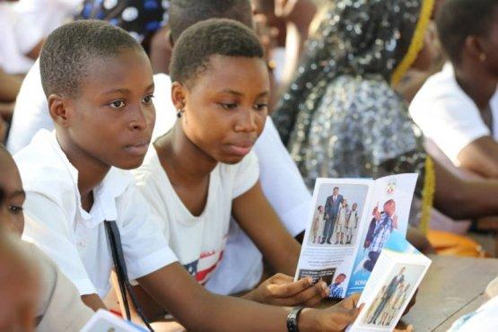 Scholl Assur Tchaoudjo - La bonne nouvelle de ''School Assur'' atteint les élèves de la préfecture de Tchaoudjo