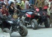ATV ride in Solang Nullah