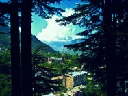 View of Old Manali