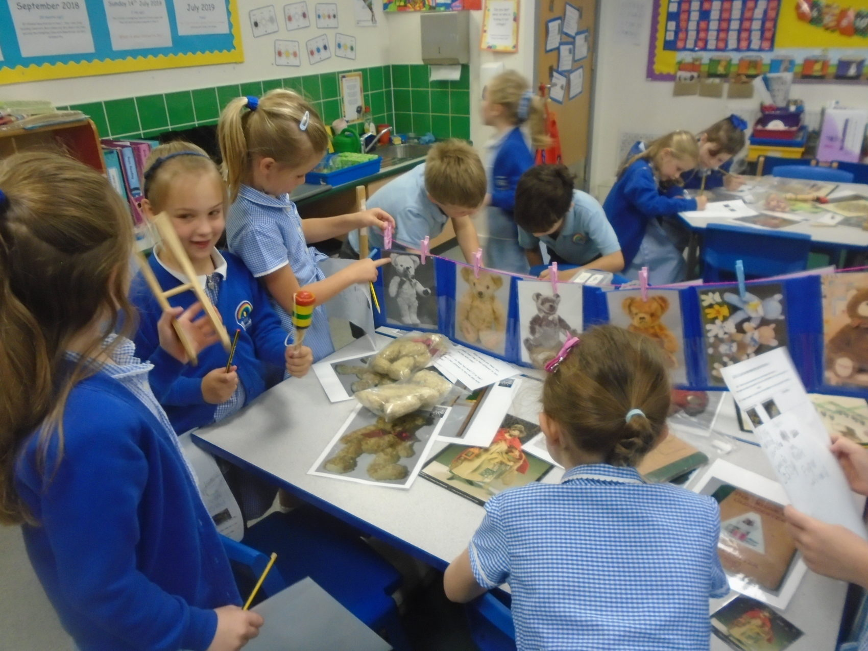 Year 1 Comparing Old And New Toys