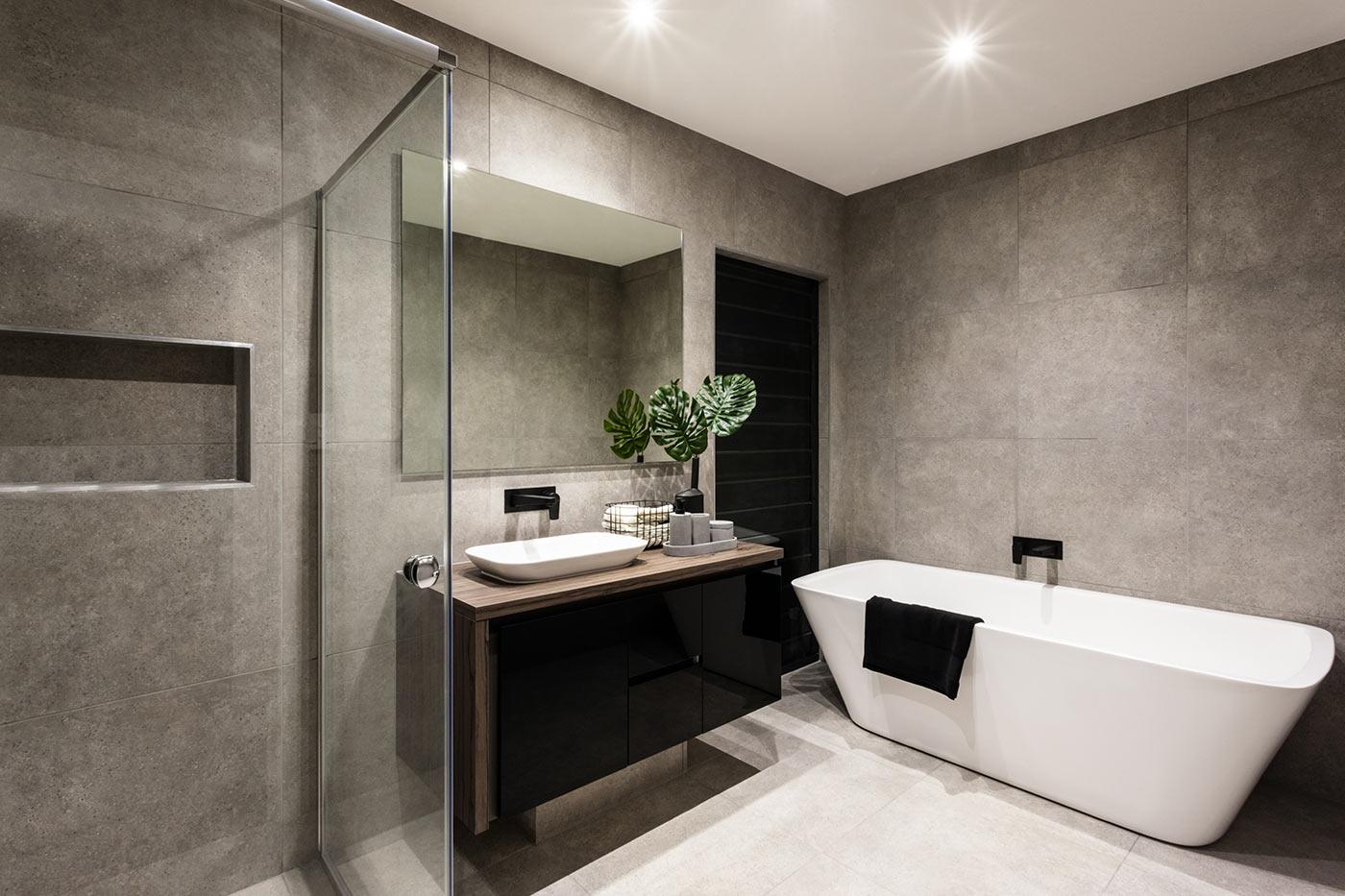 Visualizza altre idee su bagno, arredamento, bagni moderni. Bagno Moderno 1 Man Casa