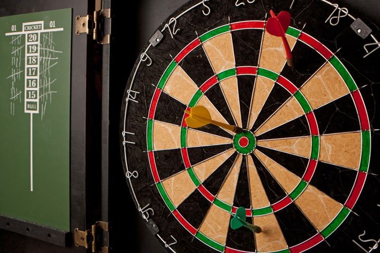 Easy Dart Games 5 Popular Games To Play In The Man Cave Man Cave