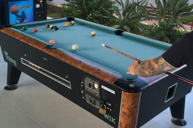 Slate Vs Wood Pool Tabe