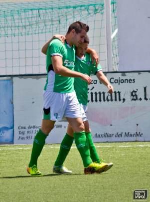 Miguel y Pedro, los dos protagonistas del partido
