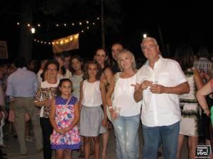 Grupo de familiares en la Verbena 2014