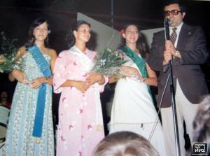 Miss Mancha Real 1976 y sus Damas de Honor