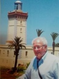 Foto del autor en Marruecos