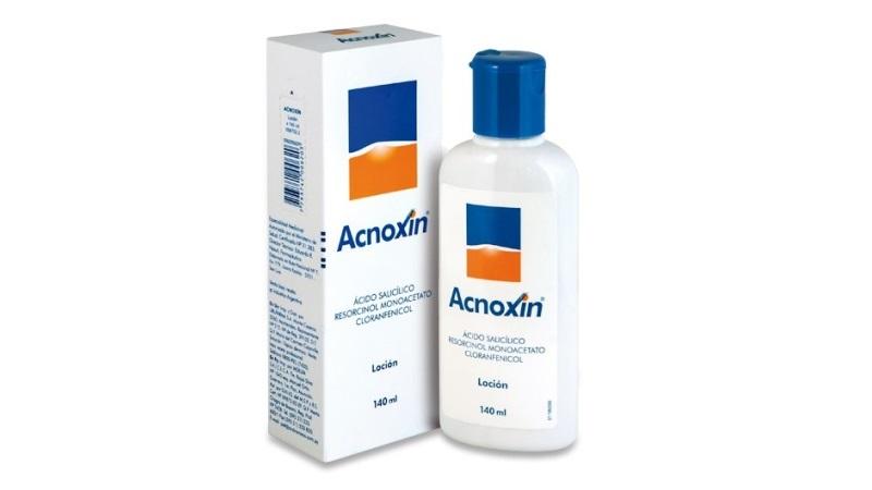 Acnoxin loción: la presentación más usada para combatir el acné