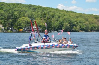 Manchaug Pond Foundation Boat Decorating Contest 2016