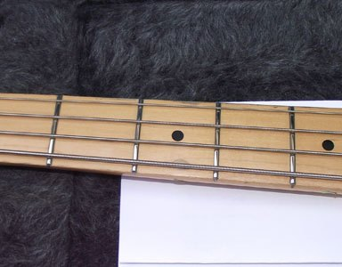 Fender Precision Bass partial refret