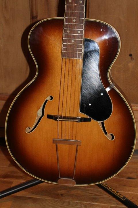 Zenith Bijou Standard 21 Archtop acoustic guitar