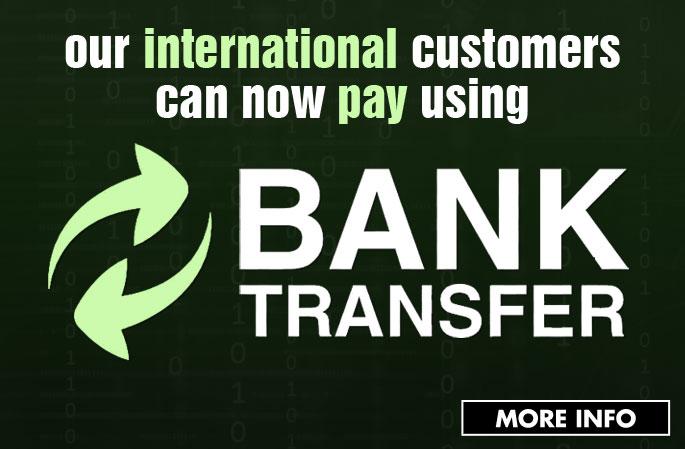 Slider - Bank Transfer
