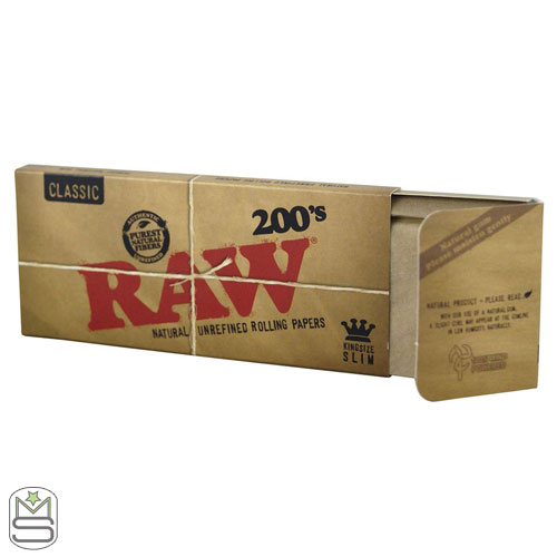 Raw 200s - King Size Rolling Papers