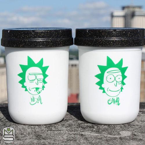 Restash Jar - Indica & Sativa - 8oz