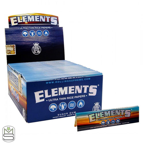 Elements - King Size Slim Rolling Papers