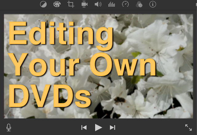 Title - Guide to editing DVDs