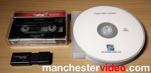 Video tape usb dvd