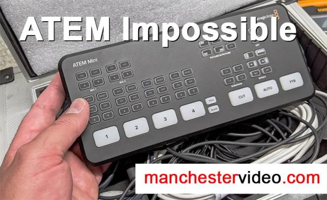 Impossible Features Of The Blackmagic Design Atem Mini And Mini Pro