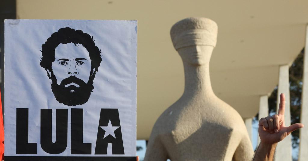 Brasília- DF. 31-07-2018 Greve de fome por tempo indeterminado pela liberdade de Lula e pela retomada da democracia no STF. Foto Lula Marques