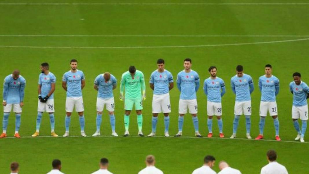 Manchester City Starting lineup against Tottenham Hotspur