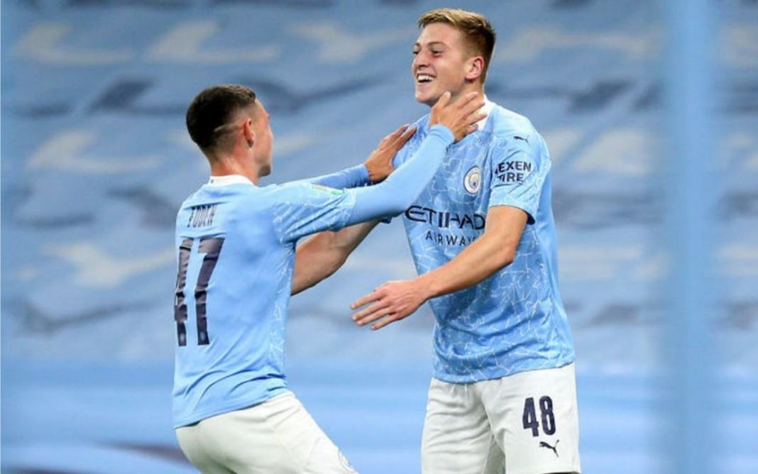 Phil foden and Liam Delap
