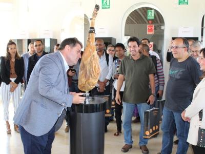 Visita a la DOP Jabugo, en la Casa del Tiro Pichón