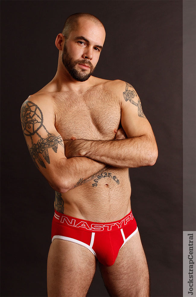 jsc nasty pig baller brief red