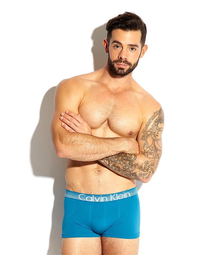 charlie king towie in calvin klein boxers underwear