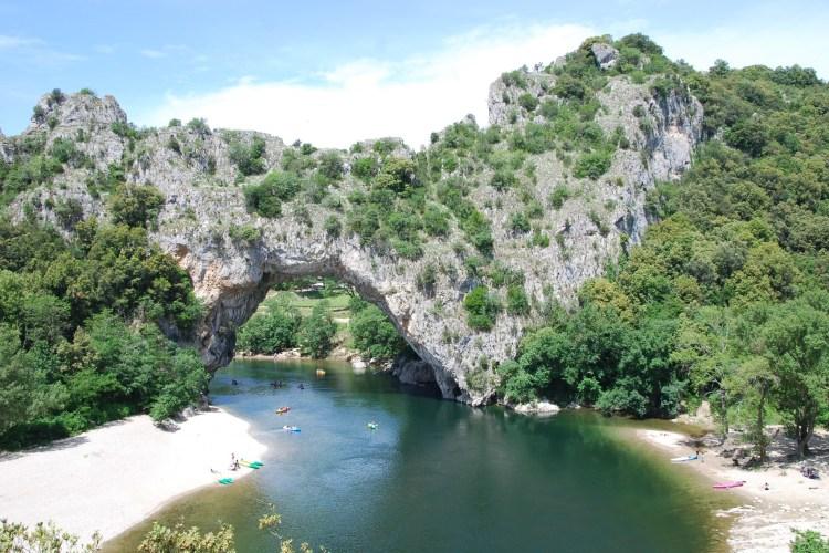 Drive through Gorges de l' Ardèche