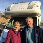 Moya & Ken during Europe's Best Christmas Markets Escorted Motorhome Tour 2017