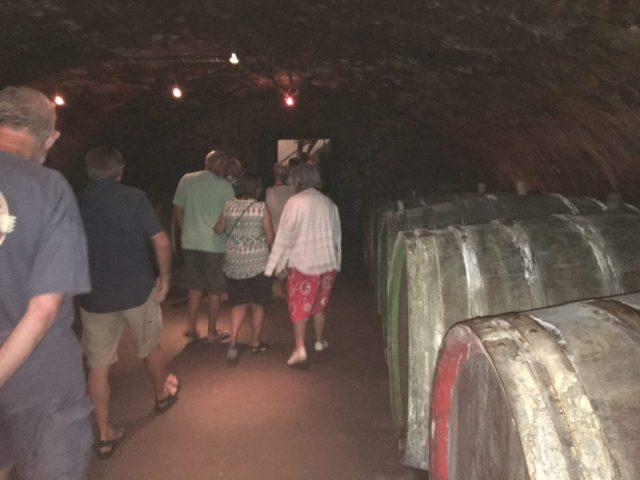 Visit wine cellar Trier 2017