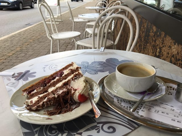 Black Forest Gateaux in Triberg