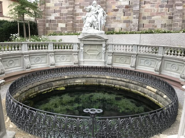 Source of the Danube in Donaueschingen