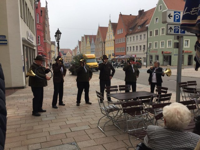 Brass band in Donauwörth