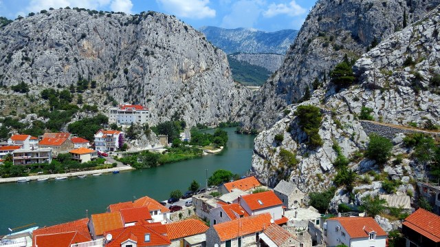 Omis and Cetina river