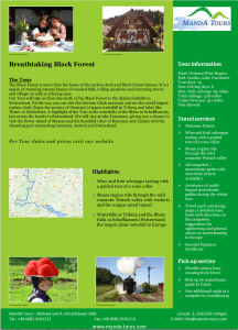 First Page Breathtaking Black Forest 2020