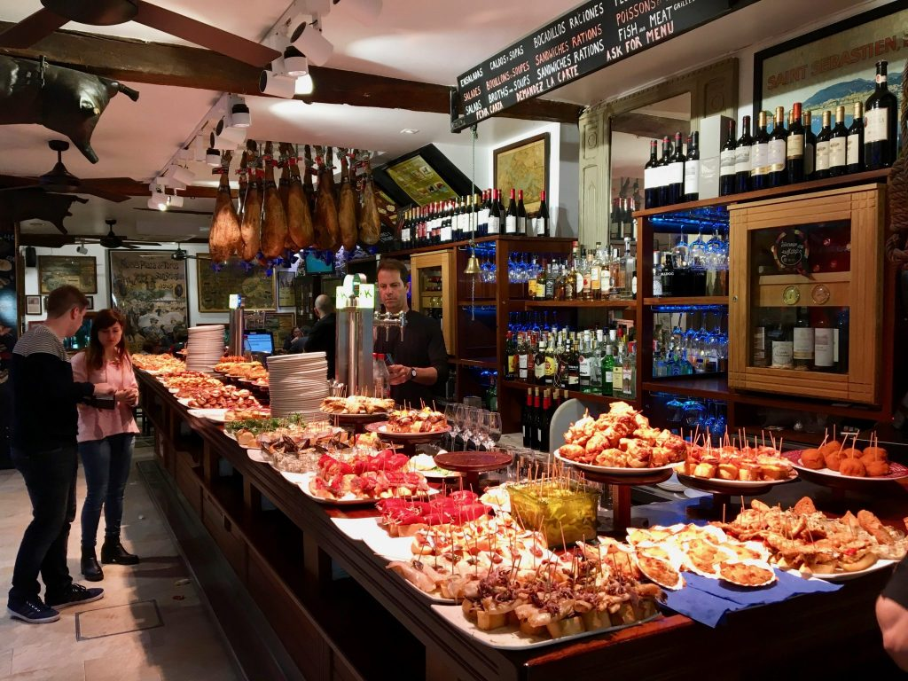 Tapas bar in Donostia/San Sebastian