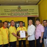 Sofwat Nasution Mendaftar ke Partai Berkarya