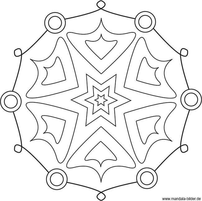 Kreative Mandala Vorlage Zum Ausdrucken