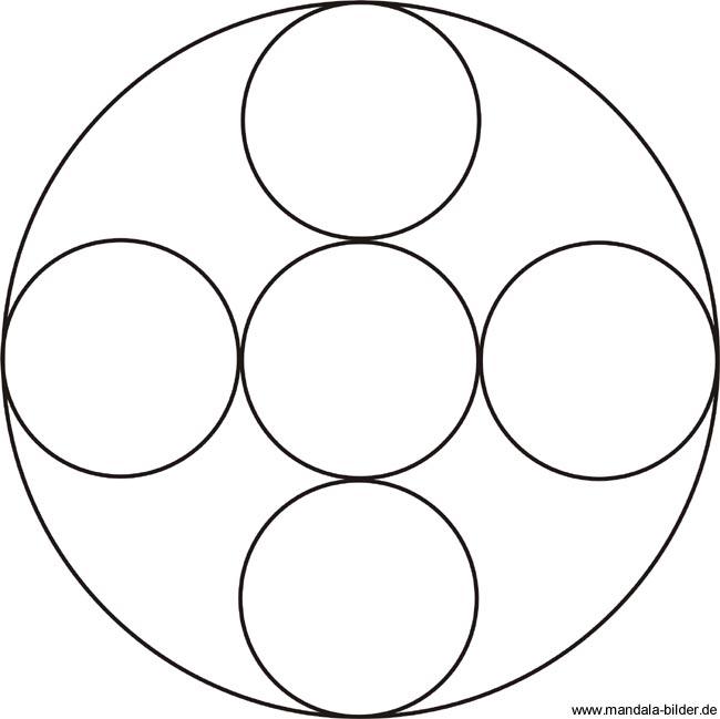 Mandala Fr Kindergartenkinder Zum Gratis Download